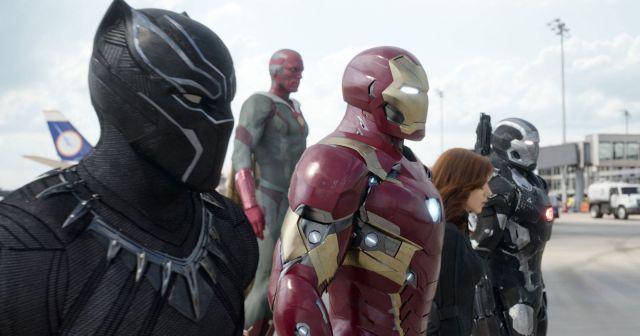 Captain America Civil War. Team Iron man