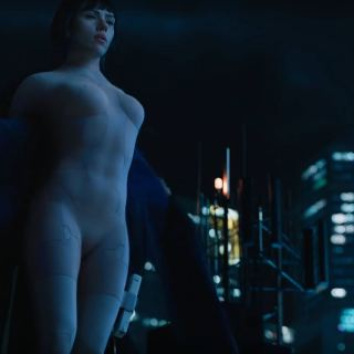 Scarlett Johansson sexy as The Major - Ghost In The Shell