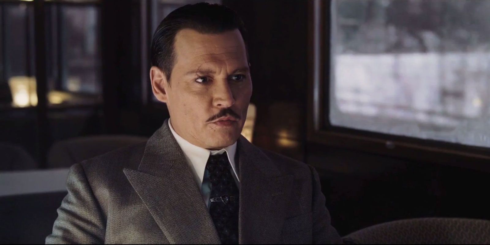 Johnny Depp Murder on the Orient Express