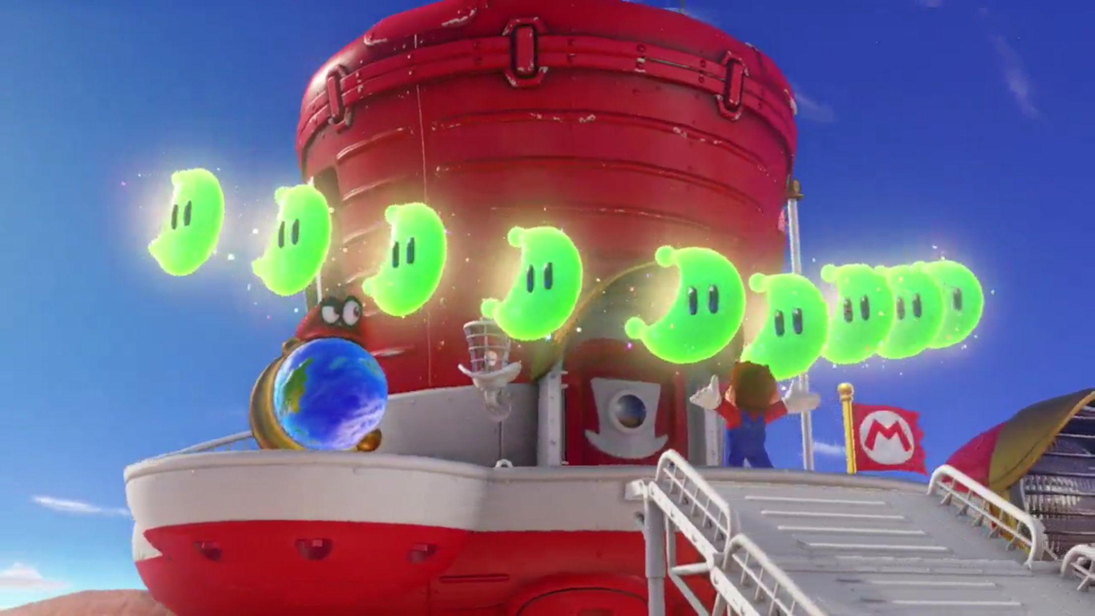 Super Mario Odyssey - More collectibles