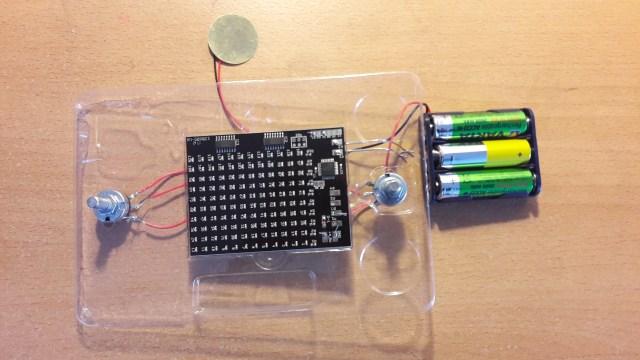 Retro Aracde Kit screen and potentiometers