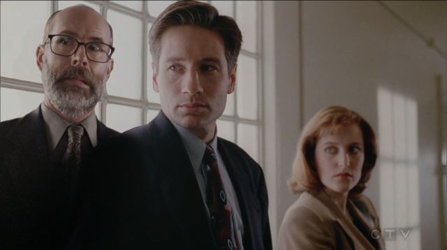 The X-Files S11E04 The Lost Art of Forehead Sweat - Reggie in the episode Tooms