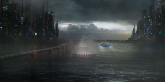 Altered Carbon - Future Bay City