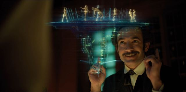 Altered Carbon - Poe at The Raven and his selection of entertainment