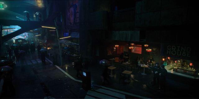 Altered Carbon - street scene
