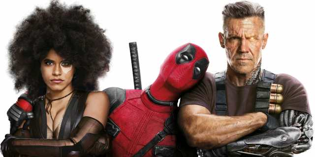 Deadpool 2 review - Domino Wade and Cable