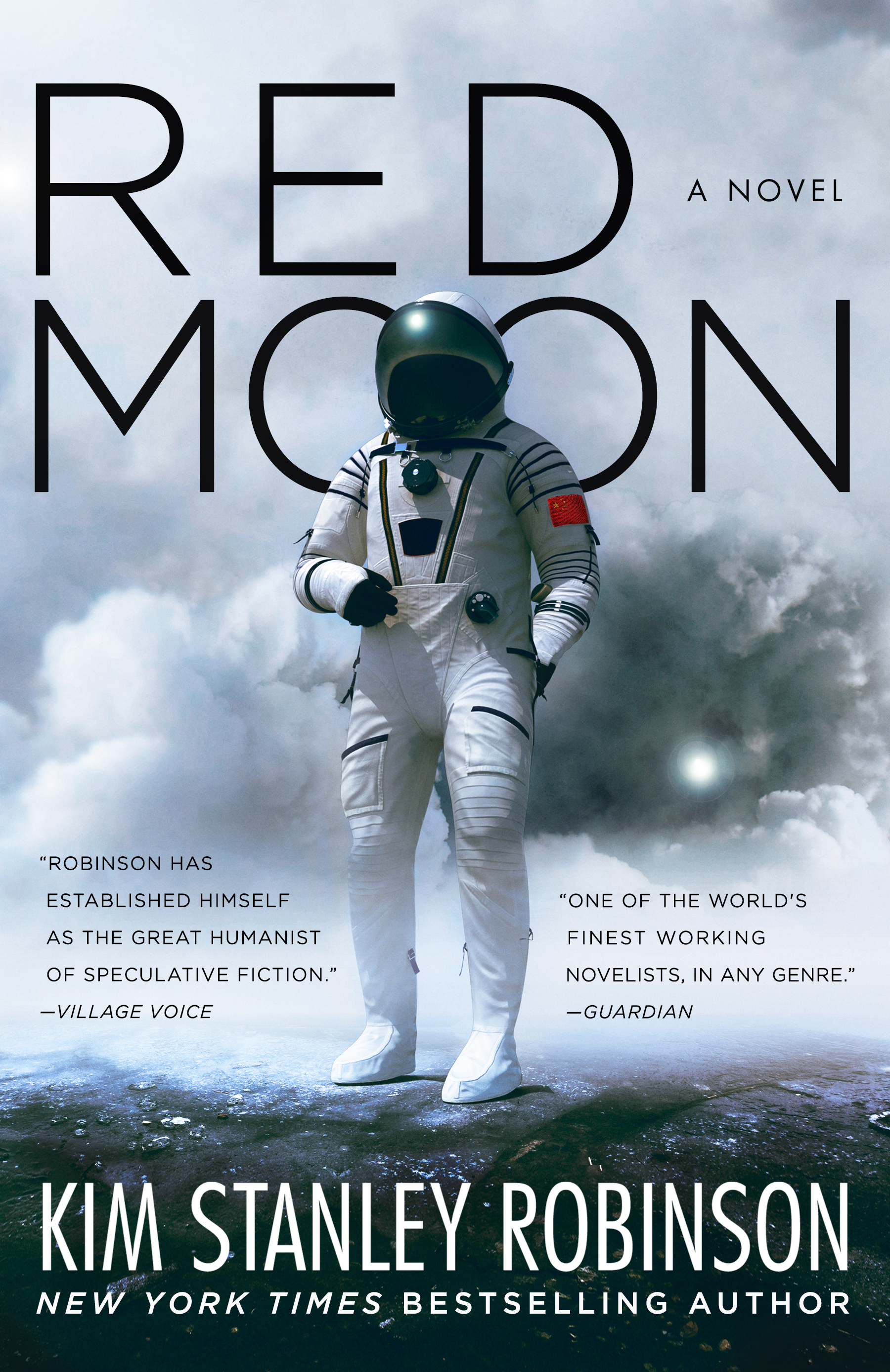 Cover of Red Moon Review by Kim Stanley Robinson
