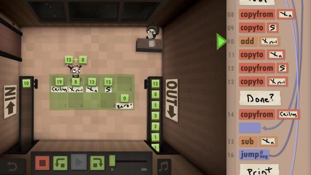 Programming Games Human Resource Machine
