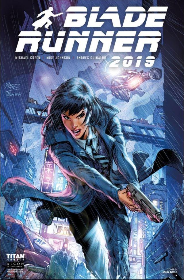 Blade Runner 2019 #1 - alternative cover