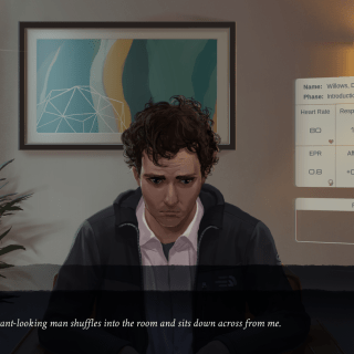 Eliza Review 2 - a visual novel from Zachtronics