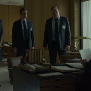 Mindhunter Season 2 Review - Carr Holden and Tench talk to Gunn