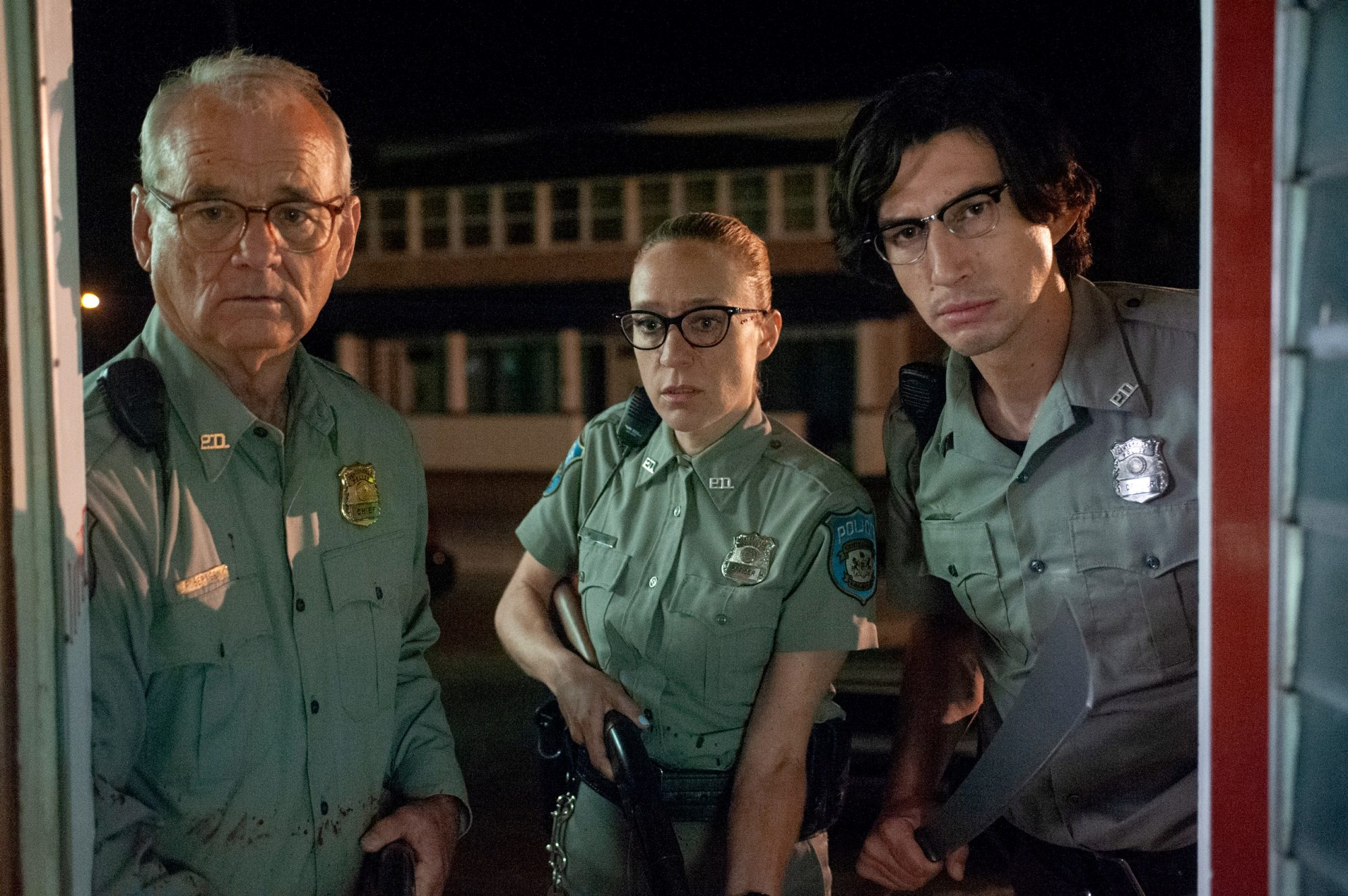 The Dead Don't Die Bill Murray Chloe Sevigny and Adam Driver
