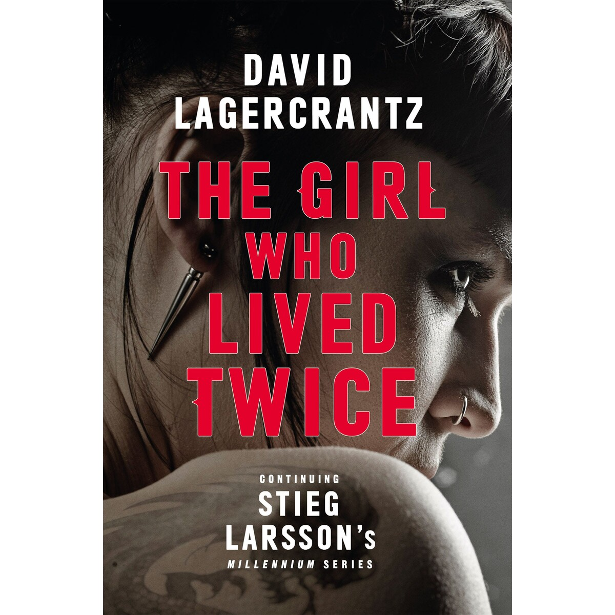 The Girl Who Lived Twice cover by David Lagercrantz