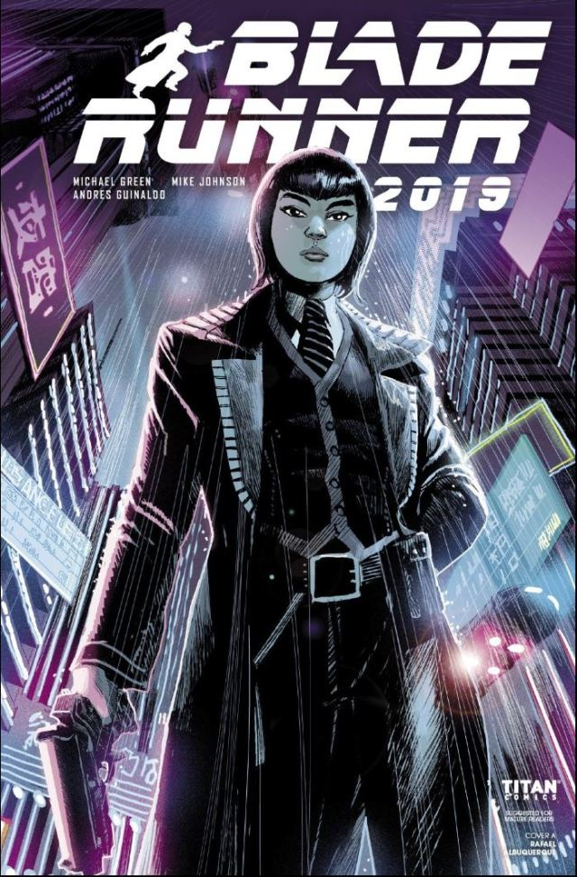Blade Runner 2019 # 4 Review - cover by Rafael Alburquerque