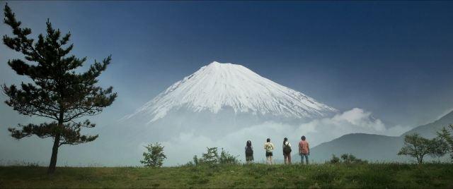 Earthquake Bird Mount Fuji