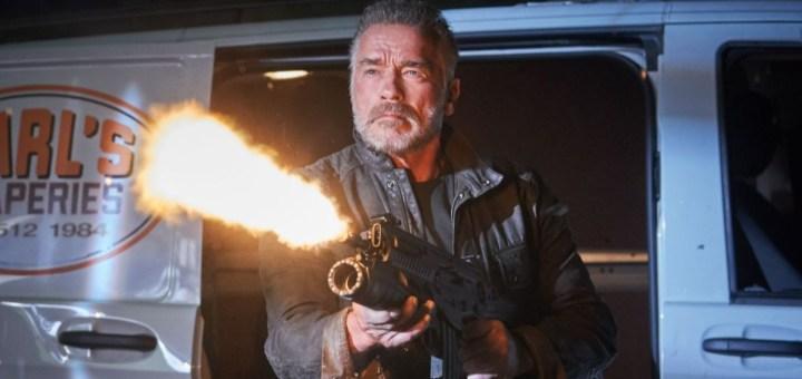 Terminator Dark Fate Review - Arnold Schwarzenegger as Terminator 800