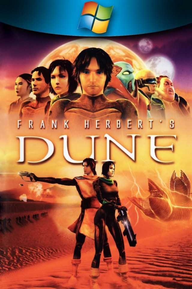 Frank Herbert's Dune game cover - Dune games