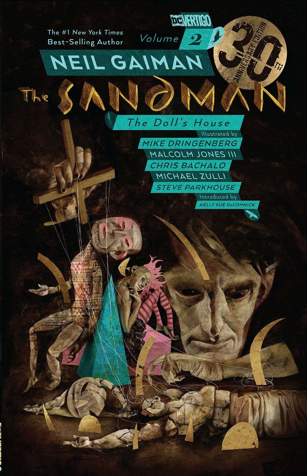 Review of Neil Gaiman's The Sandman The Doll's House 30th anniversary cover