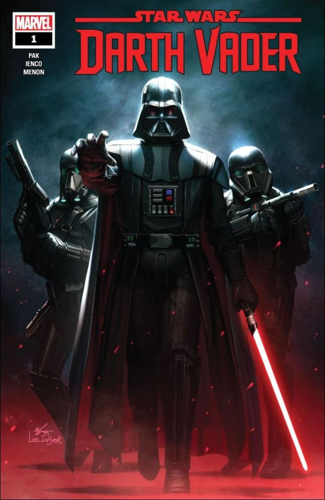 Star Wars Darth Vader (2020) Cover by In-Hyuk Lee