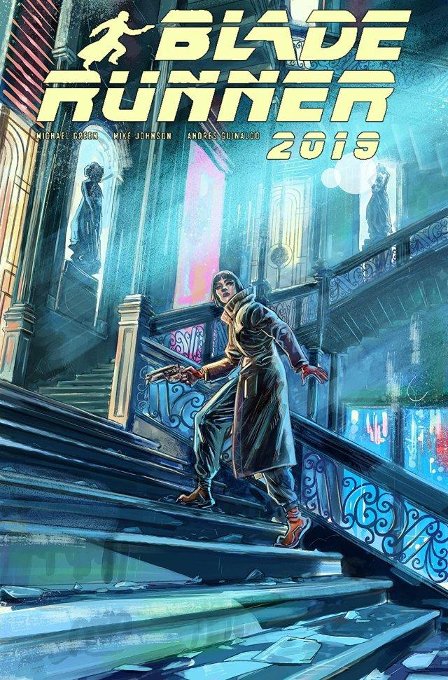 Blade Runner 2019 issue 8 cover