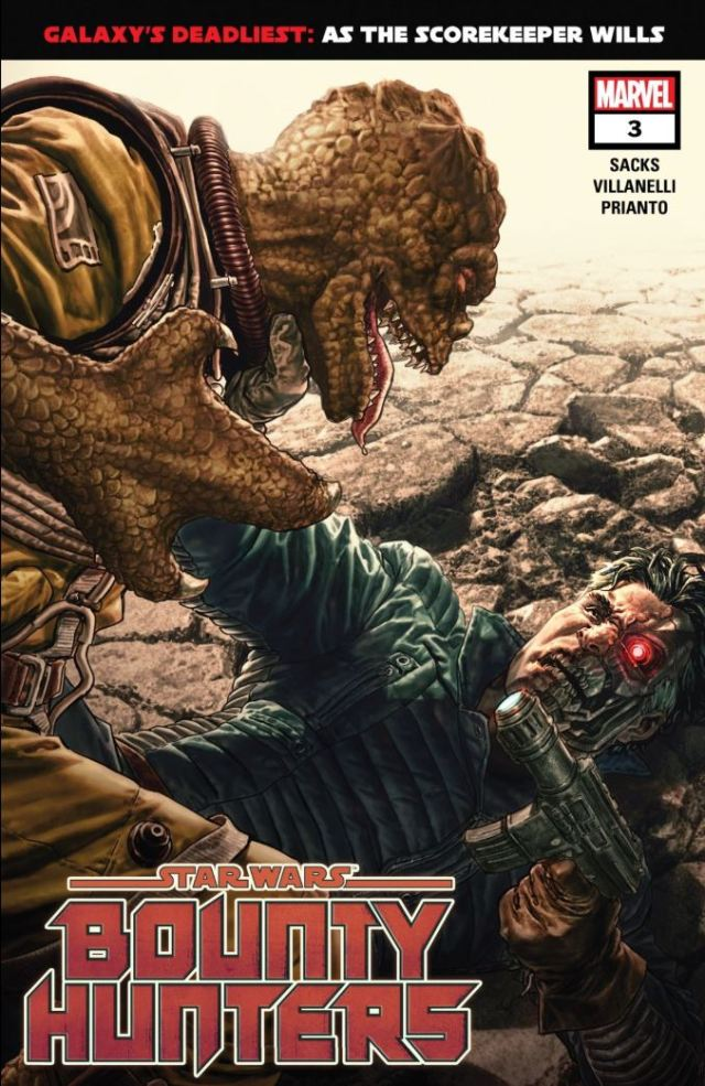 Star Wars Bounty Hunters issue 3 cover