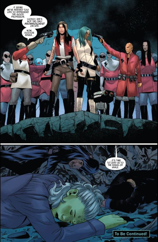 Star Wars Doctor Aphra #2 Aphra and Yad are captured