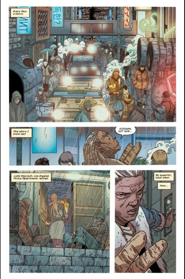Blade Runner issue #9 Lydia