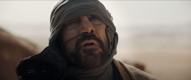 Dune movie trailer Javier Bardem as Stilgar