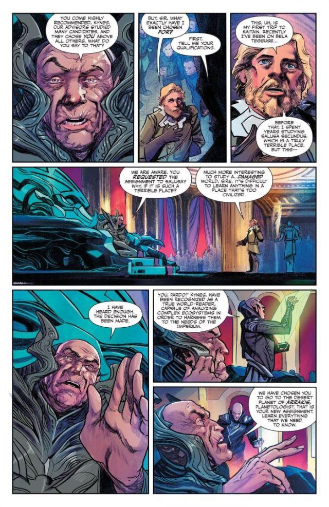 Dune House Atreides #1 Elrood and Keynes