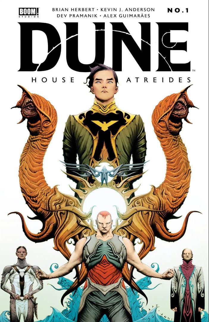 Dune House Atreides #1 cover