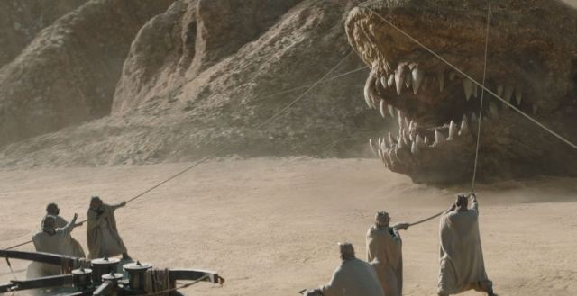 Mandalorian Chapter 9 The Marshal - The Krayt Dragon attacks