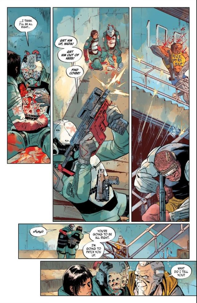Cyberpunk 2077 Trauma Team #3 Knapp gets whacked