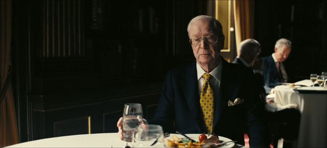 Michael Caine as Sir Michael Crosby in Tenet