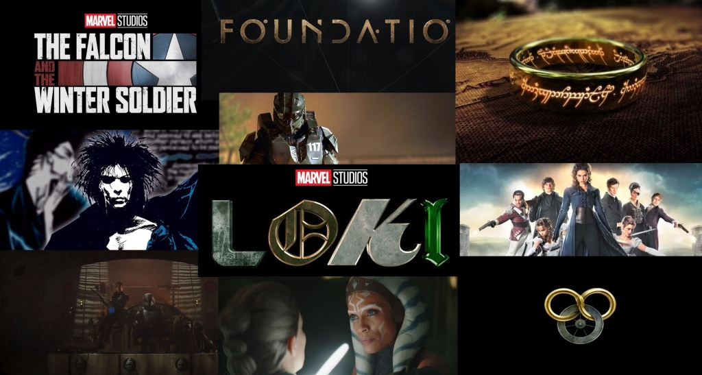 Most Anticipated Series of 2021 with The Lord of the Rings, Foundation and Ahsoka