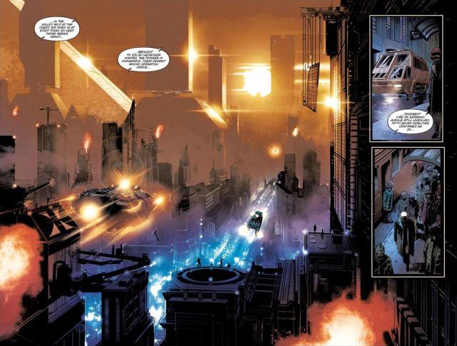 Blade Runner Origins - LA cityscape