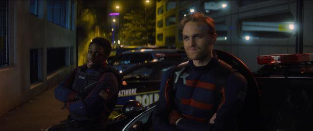 John Walker as the new Captain America