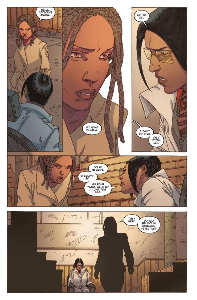 Ashana (Ash) captured by Yotun in Blade Runner 2029 #4