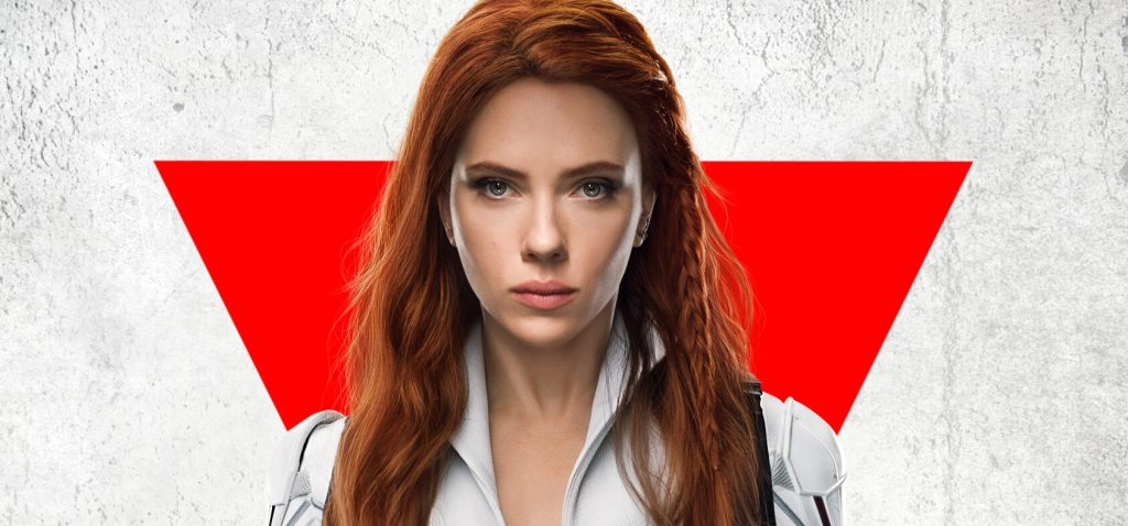 Black Widow July 9th poster with white Black Widow