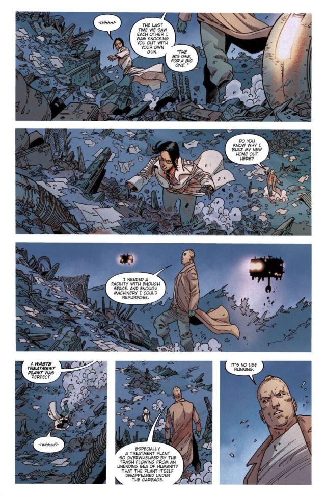 Blade Runner 2029 #5 Yotun confronts Ash