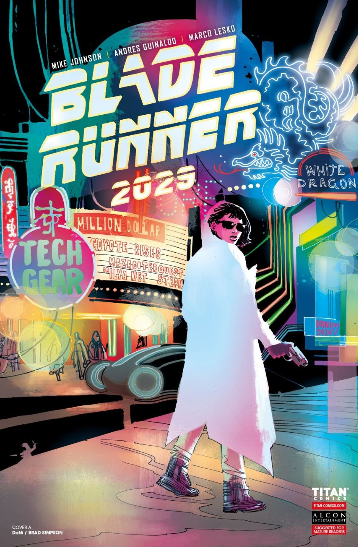 Blade Runner 2029 #5 cover DaNI