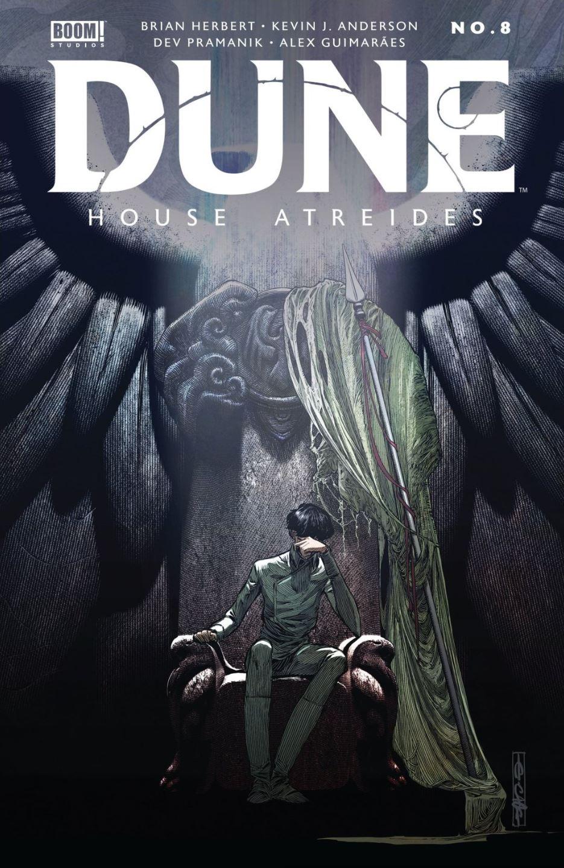 Dune House Atreides #8 cover