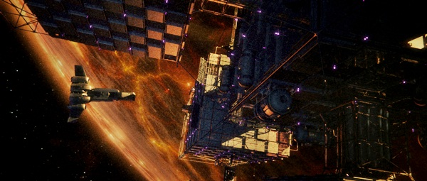 Raumstation Dante 01: Ganz nah am Inferno