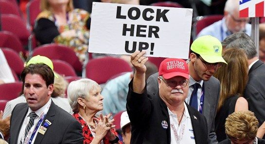 lock her up