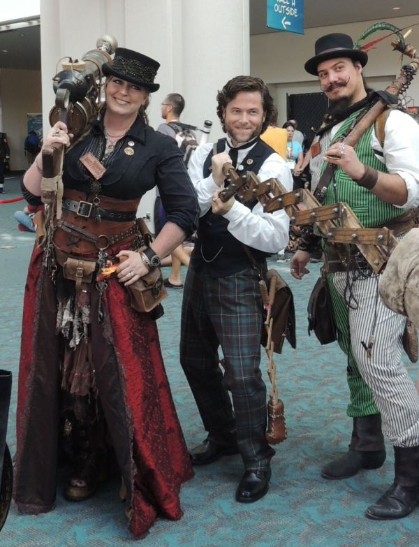 Steampunk Cosplay Men
