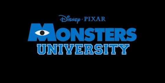 Monsters University logo wide