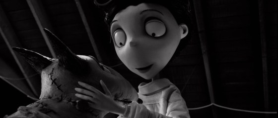 Frankenweenie Sparky and Victor