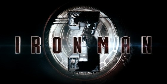 Iron Man 3 logo 2 wide