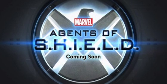 Marvel's Agents of SHIELD logo wide