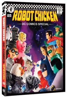 Robot Chicken DC Comics Special DVD cover