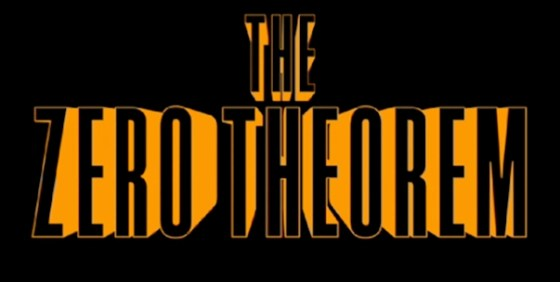 The Zero Theorem logo wide